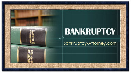 Bankruptcy is divided up into chapters.